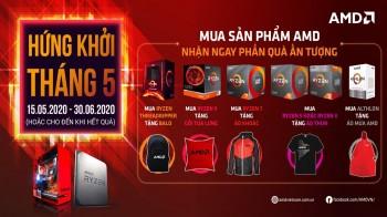 Mùa Hè Mát Mẻ cùng AMD - CTKM Tháng 5 Hứng Khởi