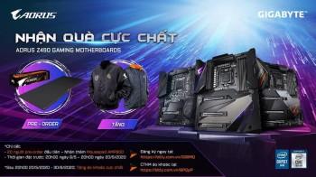 Nhận quà cực chất - Aorus Z490 gaming motherboards
