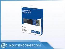 Ổ cứng SSD WD Blue 500GB SN550 NVMe PCIe Gen3x4 8 Gb/s WDS500G2B0C