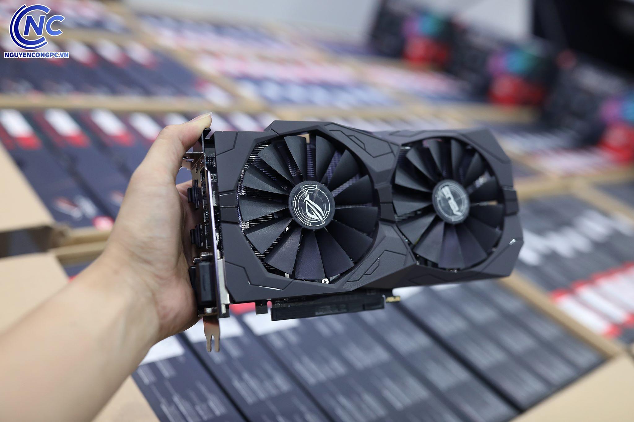 ROG STRIX RX 570 8G GAMING fan
