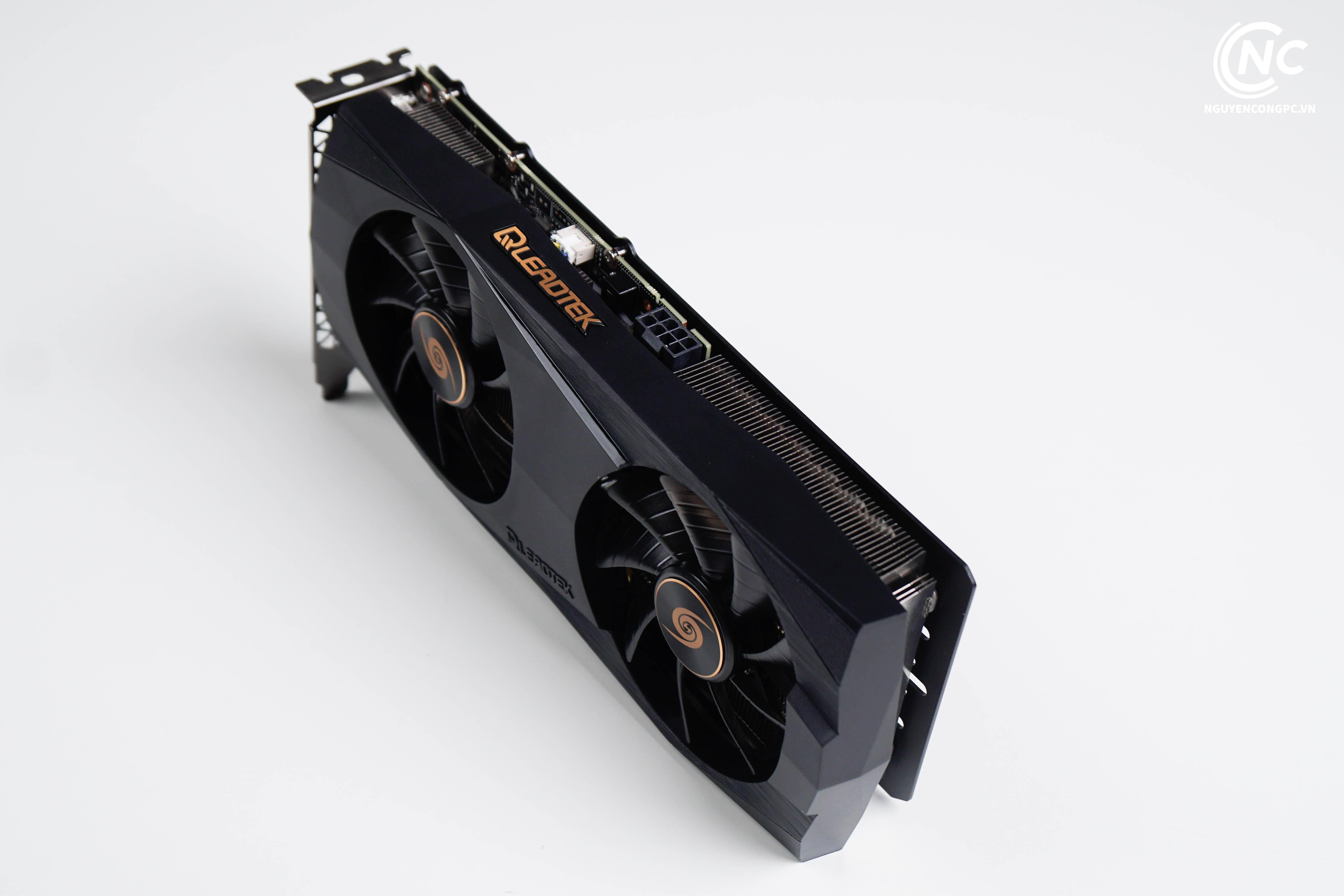 Leadtek WinFast RTX 3060 Ti HURRICANE power