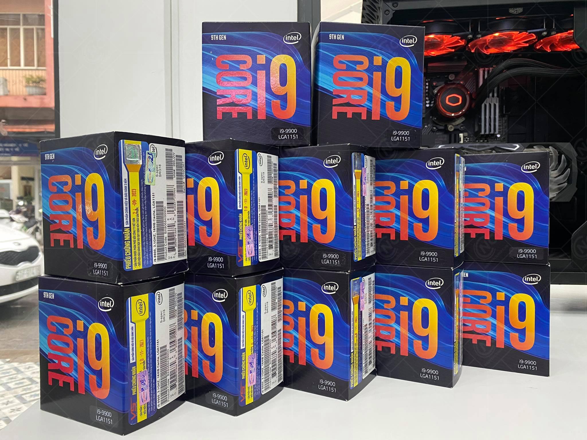 CPU Intel Core i9-9900