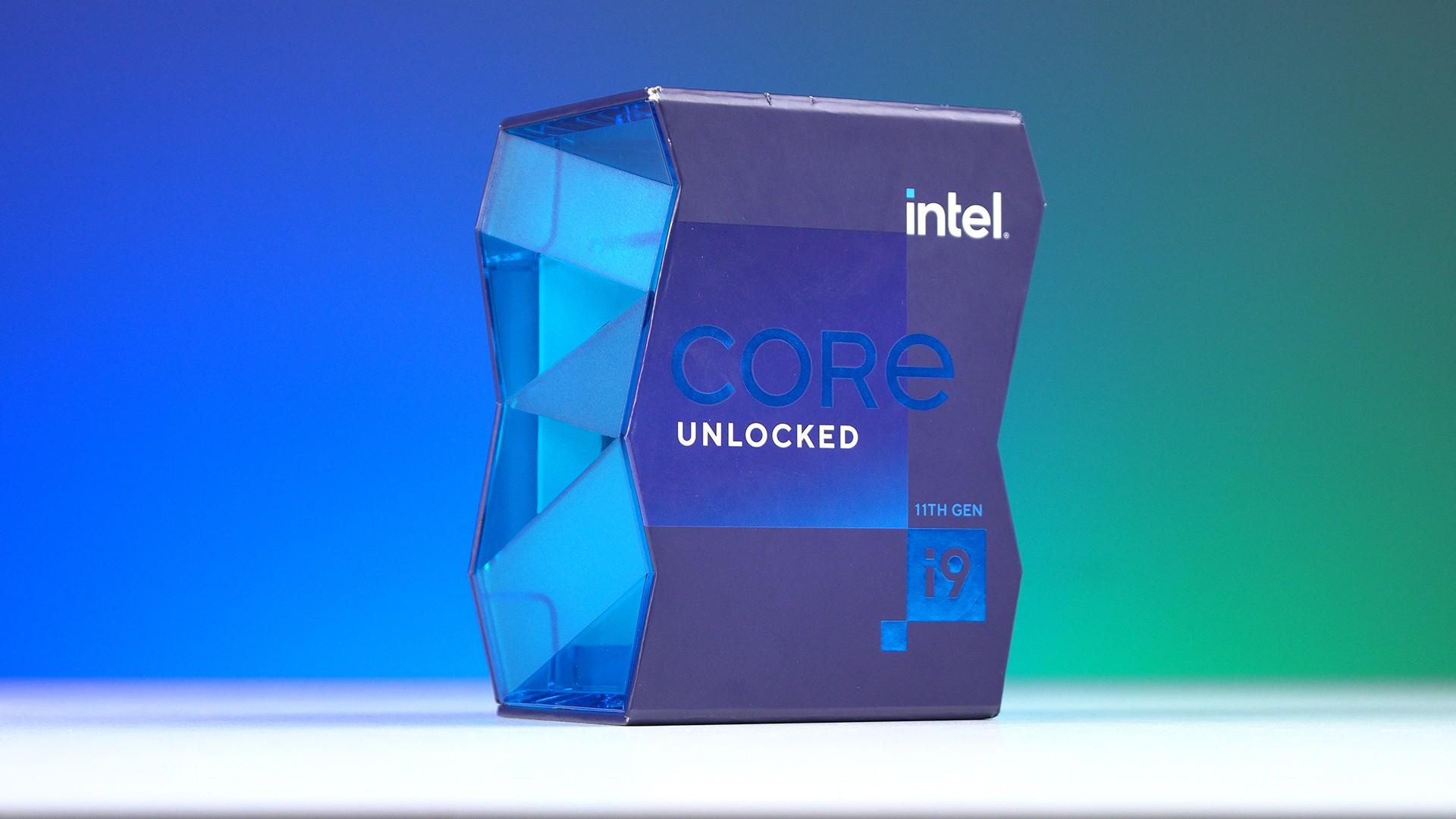 Vỏ hộp CPU Intel Core i9-11900K