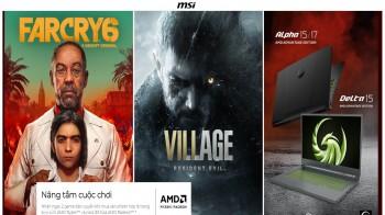 Mua laptop với AMD 5000 CPU và AMD Radeon RX6000M GPU sẽ nhận được 2 Games : Resident Evil Village and Far Cry 6