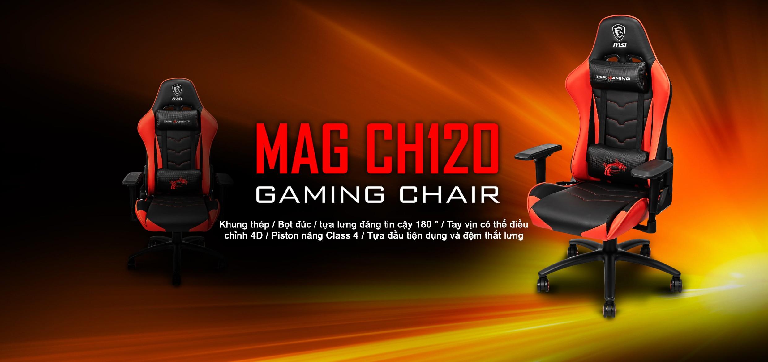 Ghế game MSI MAG CH120