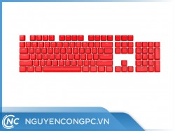 Bộ nút thay thế Corsair Keycap PBT Double-Shot PRO ORIGIN Red