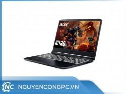 """Laptop Acer Gaming Nitro 5 AN515-55-77P9 NH.Q7NSV.003 (Core i7-10750H/8Gb/512Gb SSD/15.6"""" FHD 144Hz/GTX1650Ti 4Gb/Win10/Black)"""