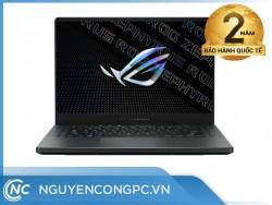 Laptop Asus ROG Zephyrus G15 GA503QM-HQ158T (Ryzen 9-5900HS/ 16GB/ 512GB SSD/ RTX 3060 6GB/ 15.6 inch WQHD/ Win 10/ Xám)