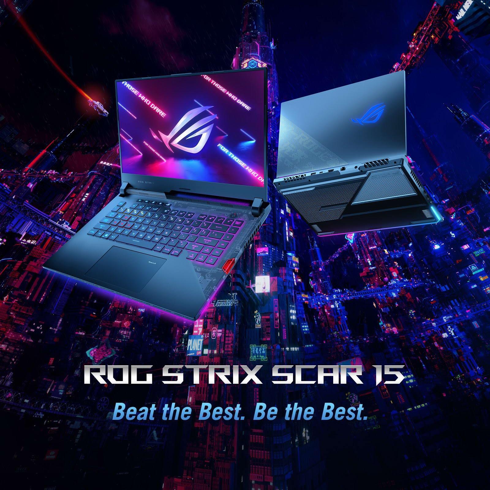 Laptop Asus ROG Strix SCAR 15 G533QR-HQ098T