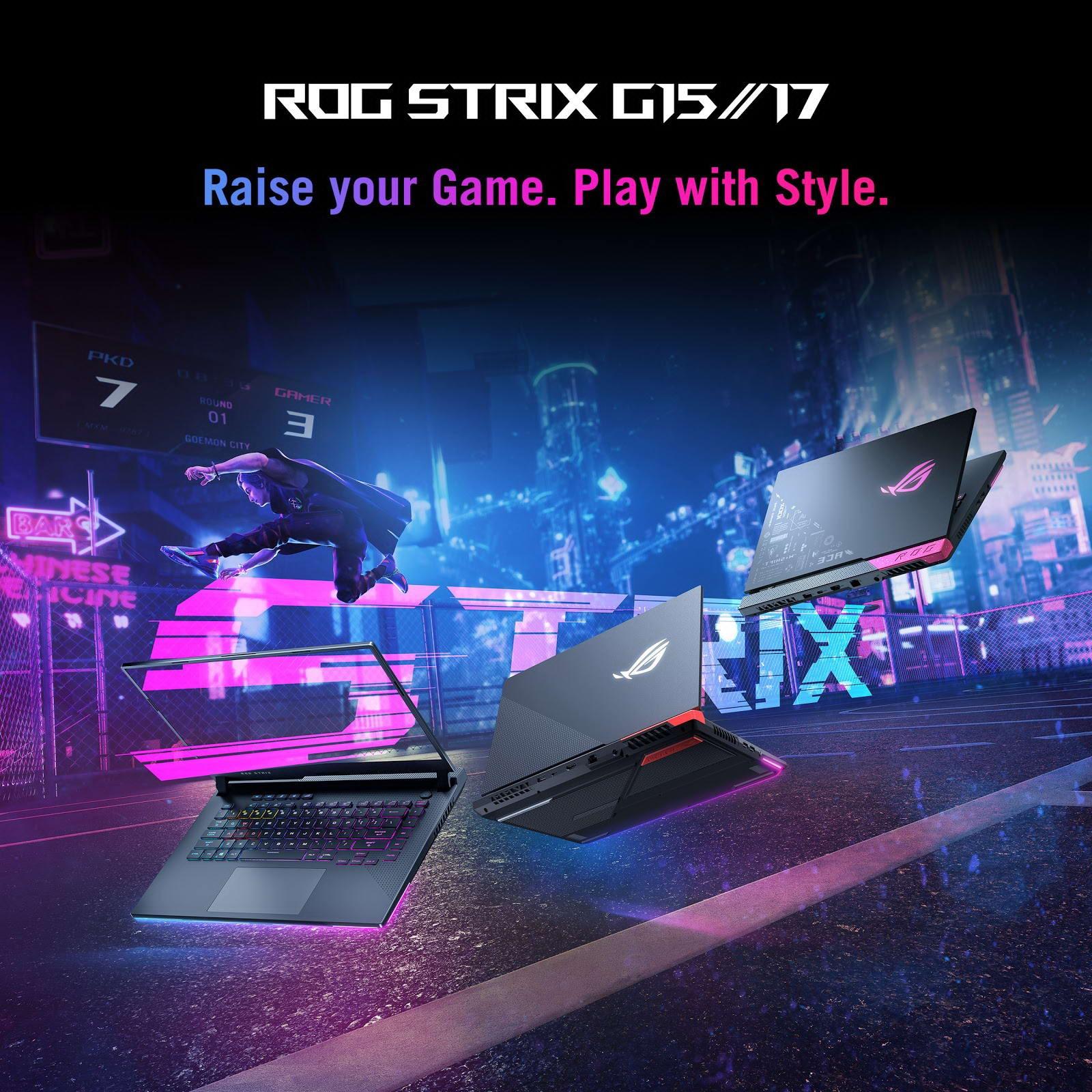 Laptop Gaming Asus ROG Strix G17 G713QM-K4183T