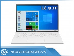 Laptop LG Gram 17ZD90P-G.AX71A5 (i7-1165G7/ 16GB/ 256GB SSD/ 17.0WQXGA/ VGA ON/ DOS/ Trắng)