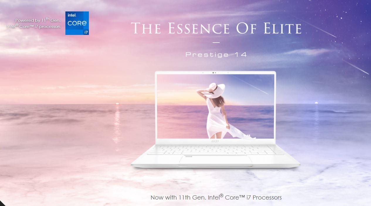 Laptop MSI Prestige 14 EVO 089VN
