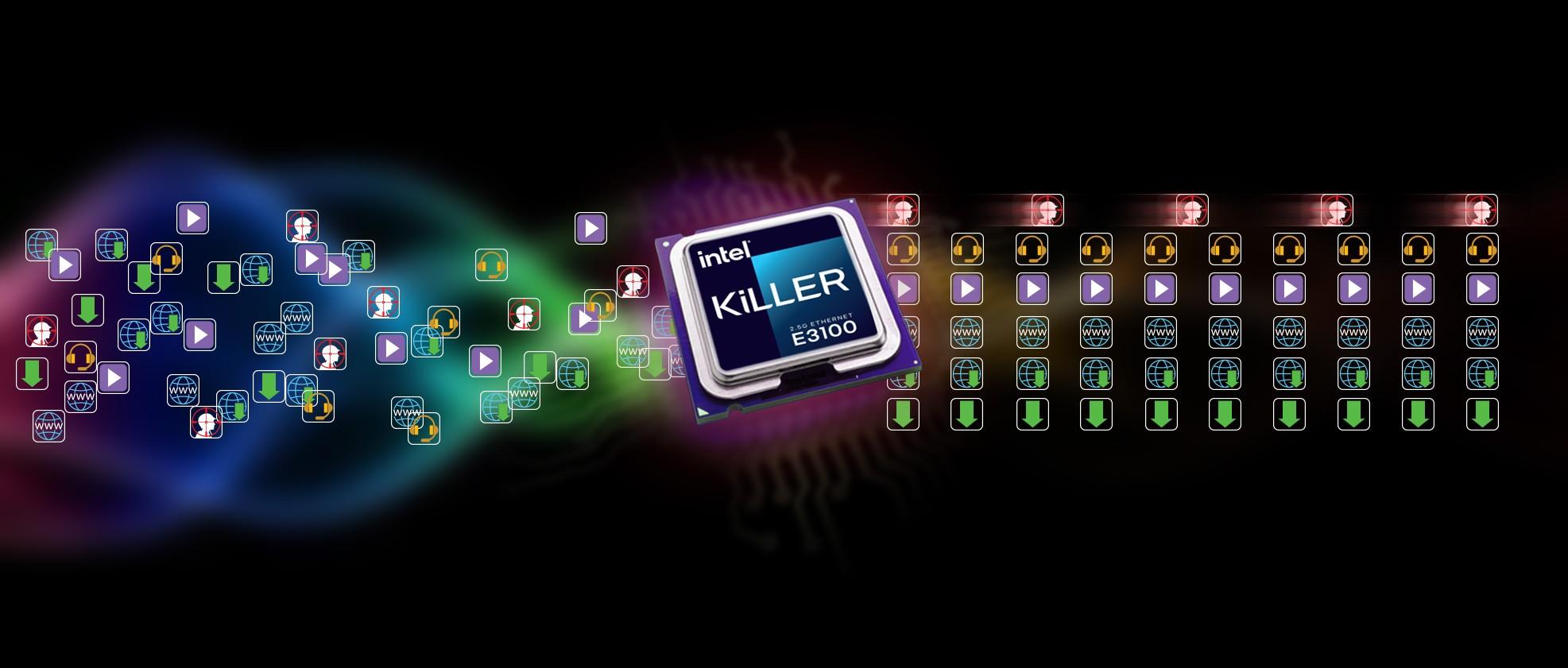 KILLERETHERNET E3100 DÀNH RIÊNG CHO CÁC GAME THỦ