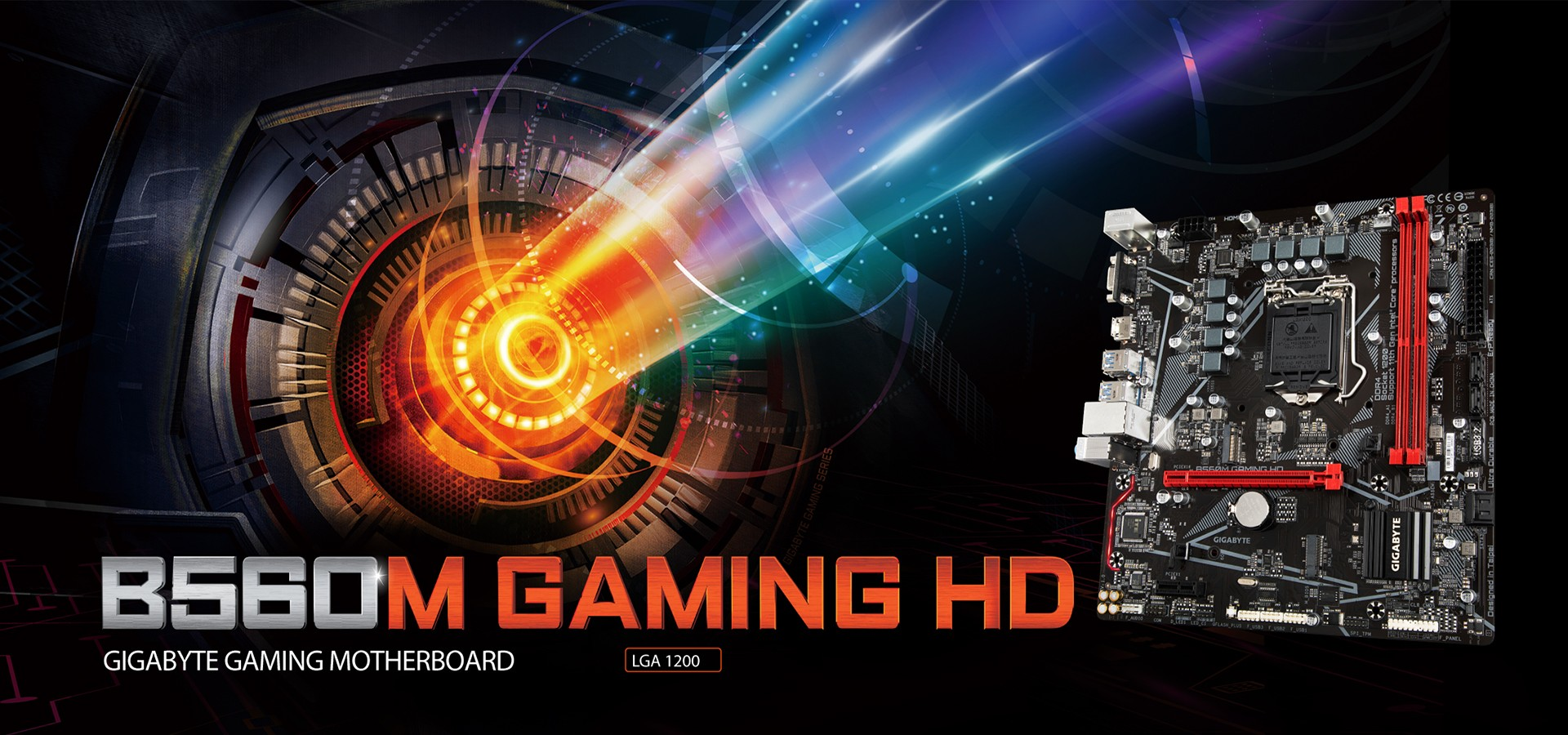 Mainboard Gigabyte B560M GAMING HD