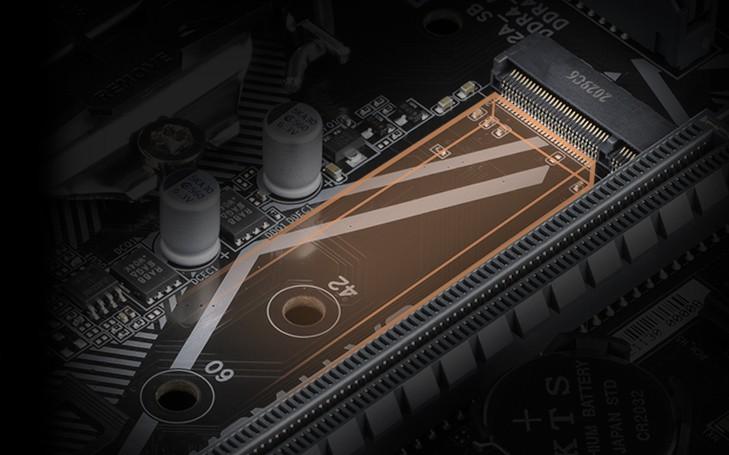 ĐẦU NỐI NVME PCIE GEN3 X4 2280 M.2
