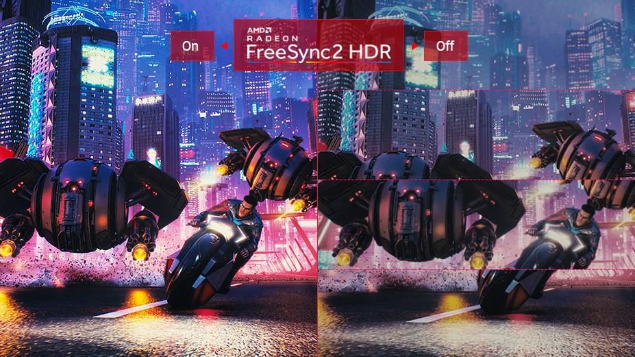RADEON FREESYNC™ 2 HDR ĐỂ CHƠI GAME MƯỢT
