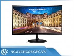 Màn hình cong Samsung C27F390FHE (27 inch/ FHD/ VA/ 60Hz/ 4ms/ HDMI+DSub/ 1800R )