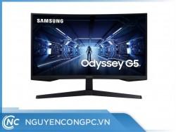 Màn hình Samsung LC27G55 ( 27 inch/ QHD 2K/ VA/ HDMI/ 144Hz/ 1ms/ Cong)