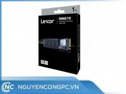 Ổ cứng SSD Lexar NM610 1TB (NVMe Gen3x4/ Đọc 2100MB/s / Ghi 1600MB/s)