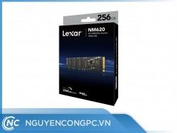Ổ cứng SSD Lexar NM620 256GB (NVMe Gen3x4/ Đọc 3300MB/s / Ghi 3000MB/s)