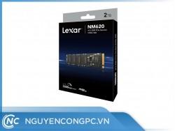 Ổ cứng SSD Lexar NM620 2TB (NVMe Gen3x4/ Đọc 3300MB/s / Ghi 3000MB/s)