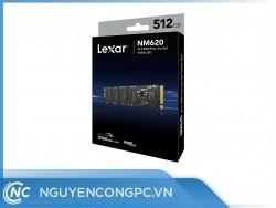 Ổ cứng SSD Lexar NM620 512GB (NVMe Gen3x4/ Đọc 3300MB/s / Ghi 3000MB/s)
