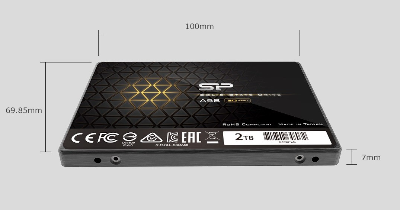 "Ổ cứng SSD Silicon Power A58 256GB Sata 2.5"""