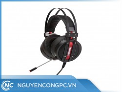 Tai nghe F2ENC (Noise Reduction) GIẢ LẬP 7.1 CAO CẤP  - Black red