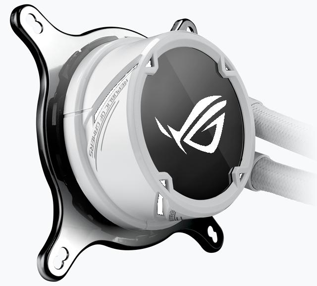 Tản nhiệt nước AIO Asus Rog Strix Lc 360 RGB Gundam Edition - pump