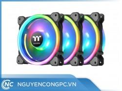 Quạt tản nhiệt Thermaltake Riing Trio 12 RGB (Gói 3 quạt)
