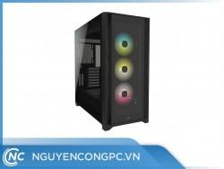 Vỏ case Corsair iCUE 5000X RGB TG Black