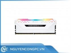 Ram Corsair Vengeance RGB PRO WHITE Heat spreader 8G (8GB x 1) DDR4 3000Hz
