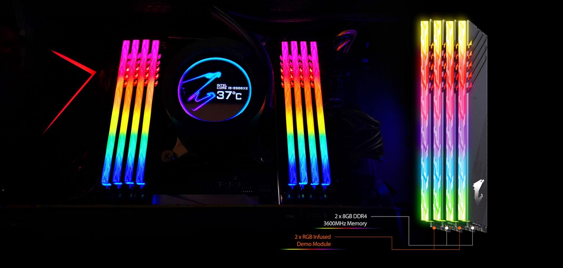MÔ-ĐUN DEMO ĐƯỢC TRUYỀN RGB ĐẦU TIÊN