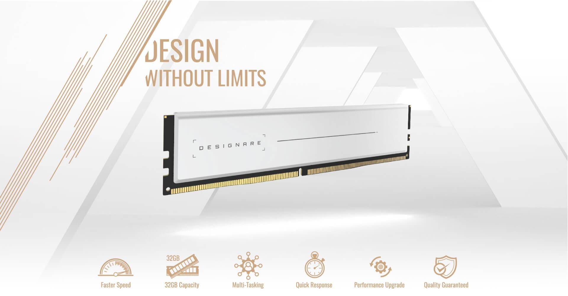 Ram Gigabyte DESIGNARE Memory 64GB 3200MHz