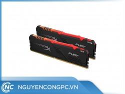 RAM Kingston HyperX HX432C16FB3A/16 (16GB/RGB/DDR4/3200MHz)