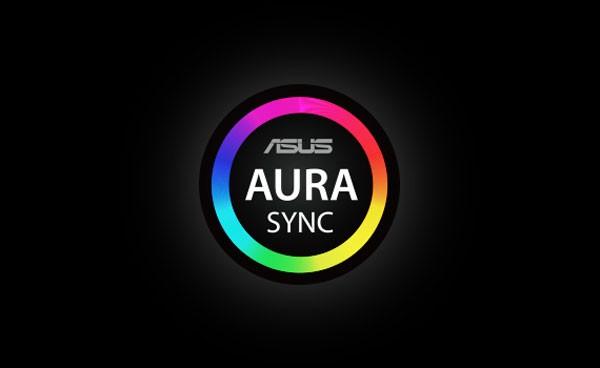 Hỗ trợ phần mềm ASUS Aura Sync và đồng bộ hóa hiệu ứng ánh sáng bo mạch chủ