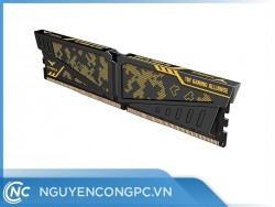 RAM TEAMGROUP T-Force Vulcan TUF Gaming Alliance Yellow 16GB (16GBx1) Bus 3200 CL16-18-18-38 DDR4