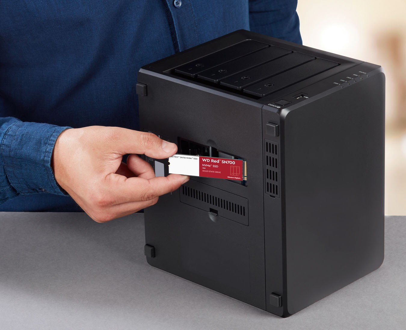 SSD M.2 NVMe TLC WD Red SN700