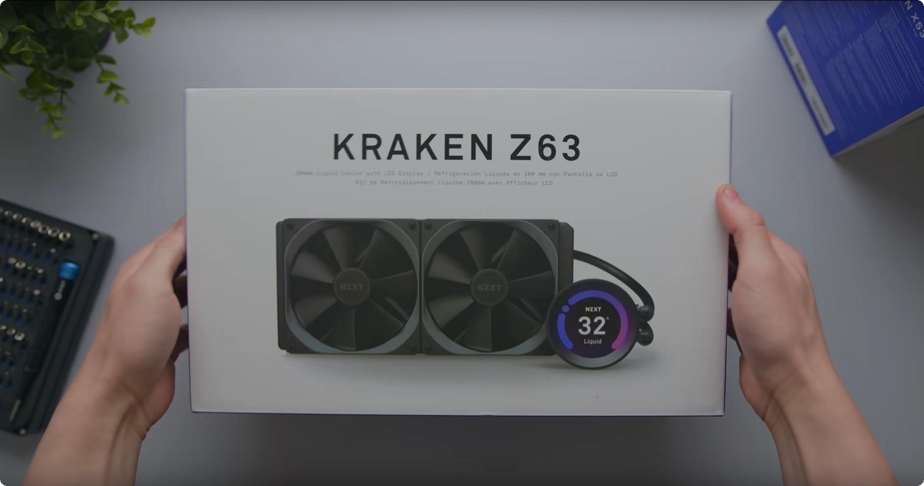 Tản nhiệt nước AIO NZXT Kraken Z63