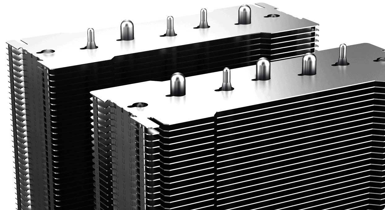 DEEPCOOL ASSASSIN III trang bị 7 ống dẫn nhiệt