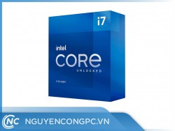 CPU Intel Core i7-11700 (8 Nhân 16 Luồng | 2.5 GHz Turbo 4.9GHz | 16M Cache | 65W)