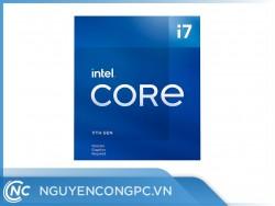 CPU Intel Core i7-11700F (8 Nhân 16 Luồng | Turbo 4.9GHz | 16M Cache | 65W)