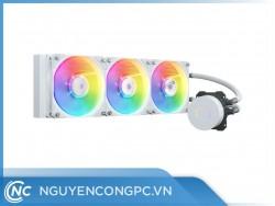 Tản Nhiệt Nước AIO Cooler Master MasterLiquid ML360L V2 ARGB White Edition