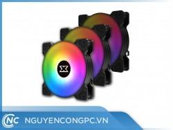 Quạt Tản Nhiệt XIGMATEK STARZ X20A (ARGB | 3 PACK | Controller | EN46775)