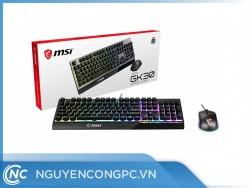 Bộ Phím Chuột MSI VIGOR GK30 GAMING COMBO