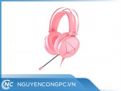 Tai Nghe DareU EH722X Pink Magic Queen 7.1