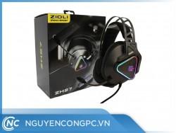 Tai Nghe ZIDLI ZH27 (7.1, USB, RGB, Mic Led 360)