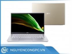 Laptop Acer Swift X SFX14-41G-R61A (R5-5600U | 16GBRAM | 1TBSSD | RTX3050Ti-4GB | 14FHDIPS | Vàng | NX.AU3SV.001)