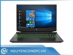 Laptop HP Pavilion Gaming 15-ec1054AX 1N1H6PA (Ryzen5-4600H/8GB/1TB-HDD+128GB-SSD/15.6-FHD-144Hz/GTX1650/Win 10/Black)