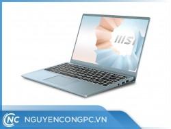 Laptop MSI Modern 14 B11MO 682VN (i3-1115G4 | RAM 8GB | SSD 256GB | 14inch IPS | Xanh)